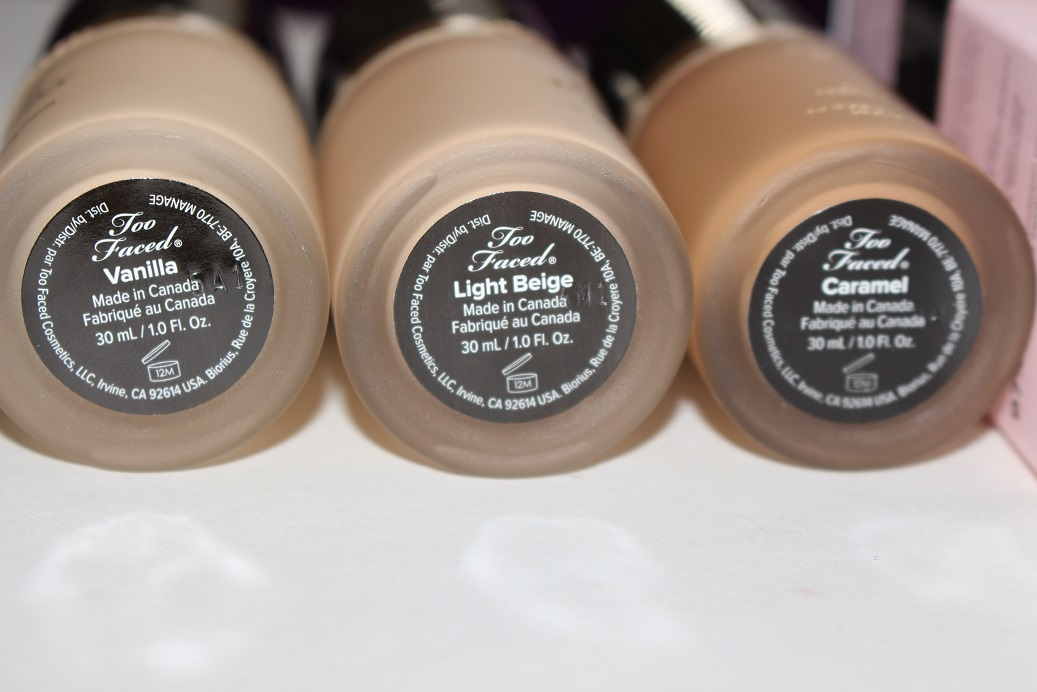 Too Faced Born This Way Foundation Review Amp Swatches