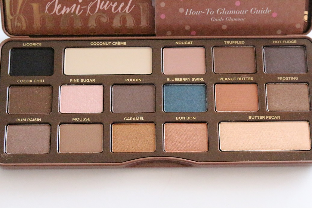Semi Sweet Chocolate Bar Palette Review