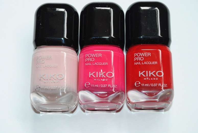 KIKO Power Pro Nail Lacquer Review & Swatches - Really Ree