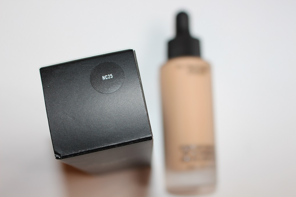 Mac Studio Waterweight Spf30 Foundation Review Swatch Really Ree