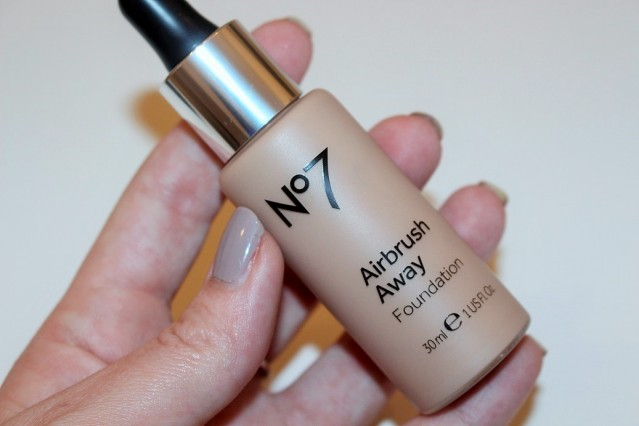 No7 Airbrush Away Foundation Review & Swatch - Really Ree