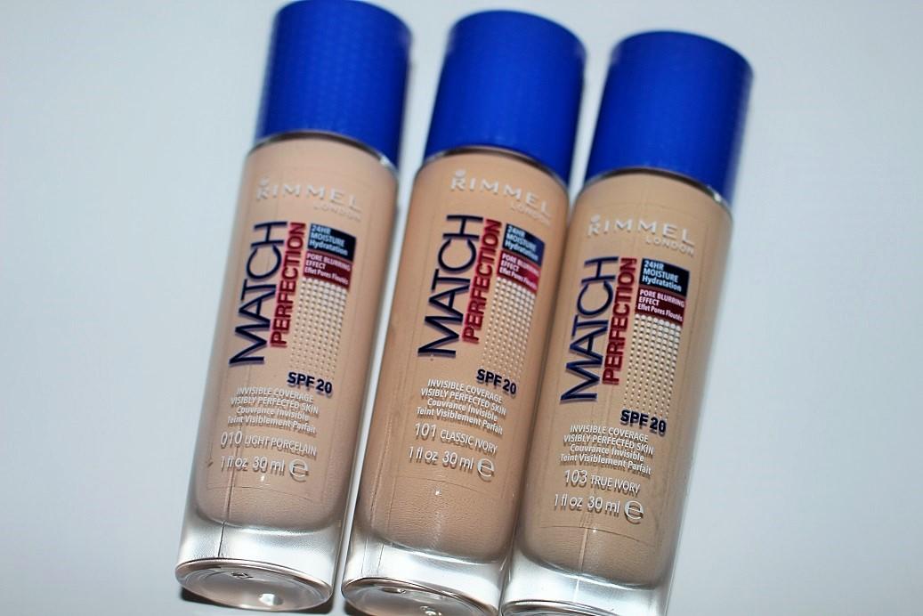 Rimmel Match Perfection Foundation Light Nude 30ml