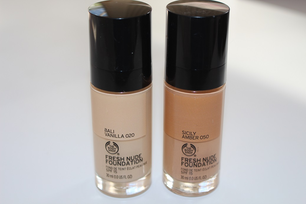 Body shop fresh nude foundation review swatches really ree for Fresh naked pics