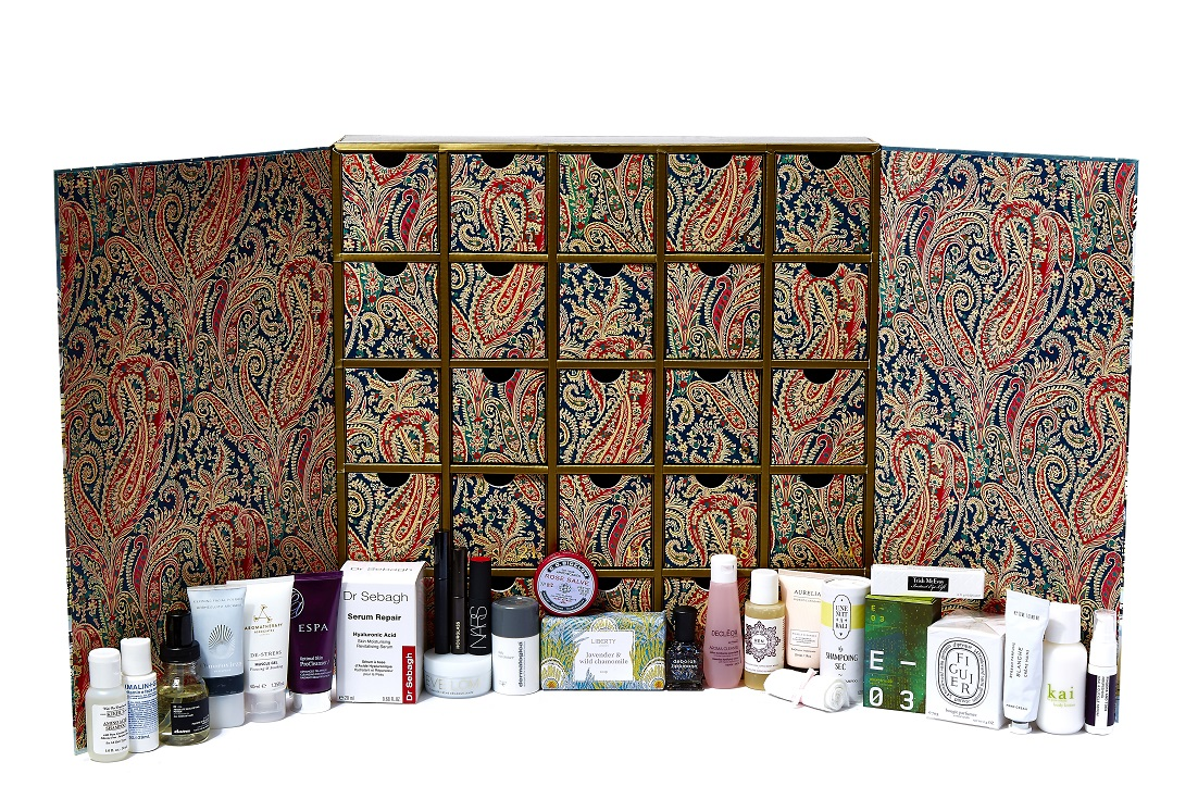 1102 x 735 jpeg 515kB, Liberty Beauty Advent Calendar 2015 - Contents ...