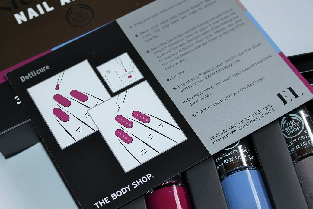Body Shop Estée Lalonde Nail Art Kit Review & Swatches - Really Ree