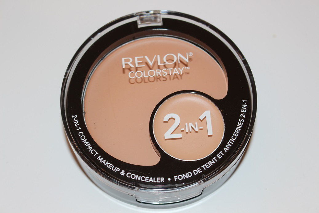 Revlon ColorStay 2 in 1 Compact Makeup & Concealer Review