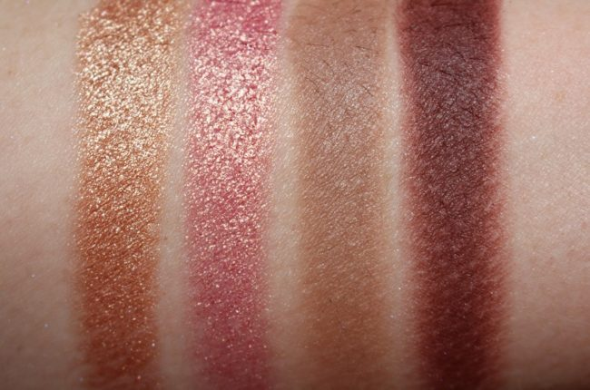 Clarins Spring 2019 Ready in a Flash Eye Palette Swatches (shadows)