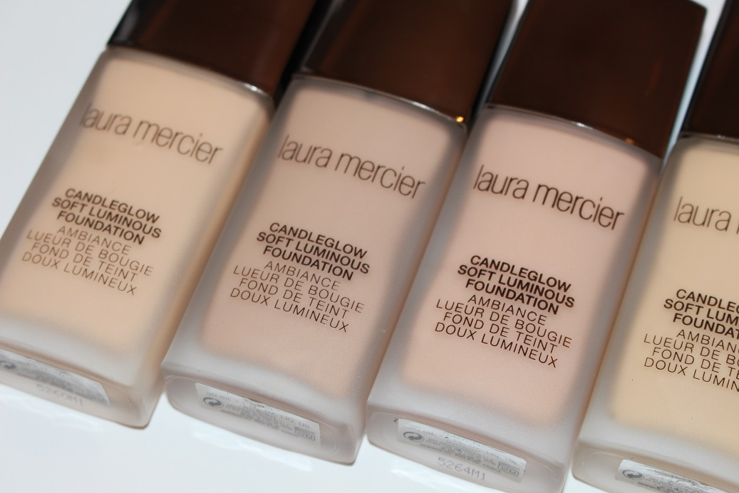 Laura Mercier Candleglow Foundation Review Swatches Really Ree