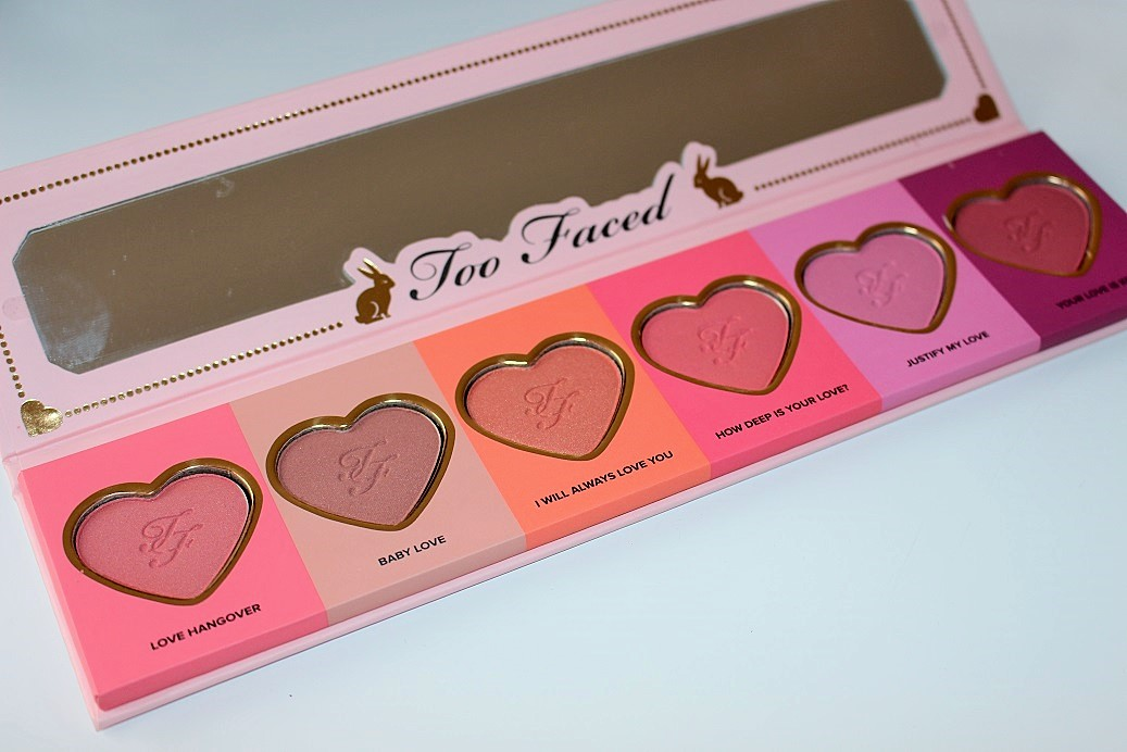 Too Faced Love Flush Blush Wardrobe Review Amp Swatches