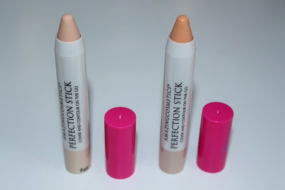 Amazing Cosmetics Perfection Stick Review Amp Swatches