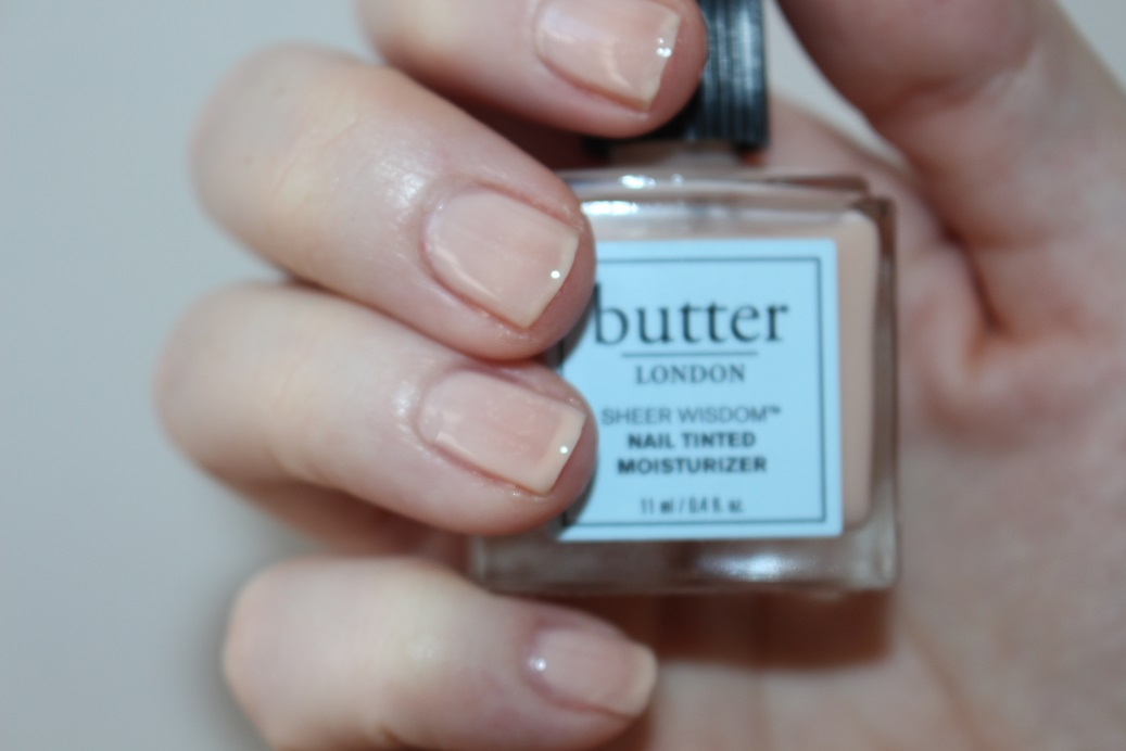Butter London Sheer Wisdom Nail Tinted Moisturiser Review Really Ree