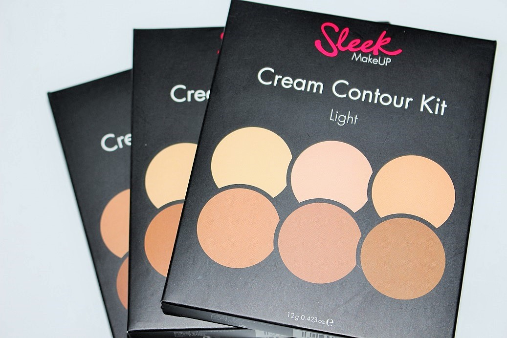 Sleek Makeup Cream Contour Kit Review & Swatches - Really Ree