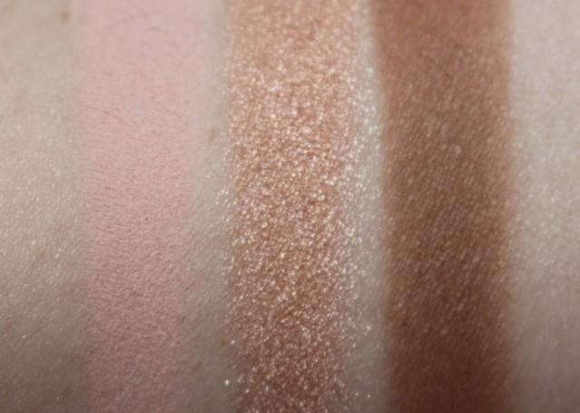 charlotte tilbury instant look swatches