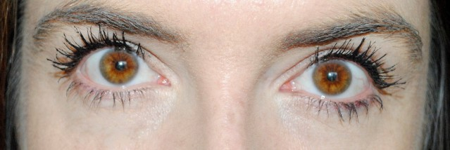 Dolce and Gabbana Passioneyes Waterproof Mascara after