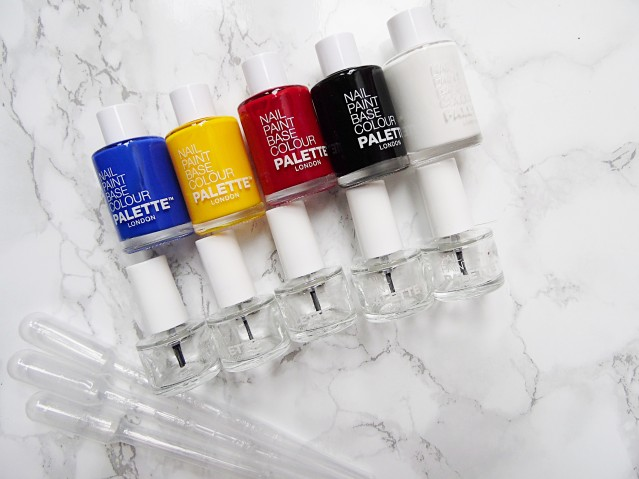 Palette london create your own nail paint collection
