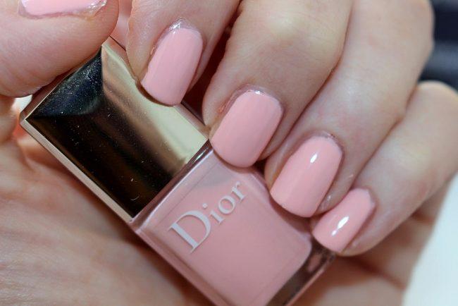 dior polka dots manicure kit