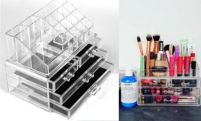Best Makeup Storage -Acrylic Stand
