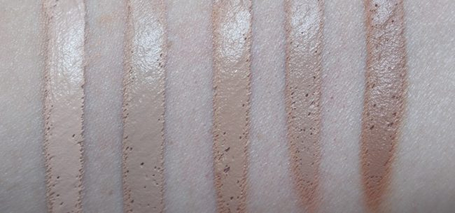 vichy dermablend 3d swatches