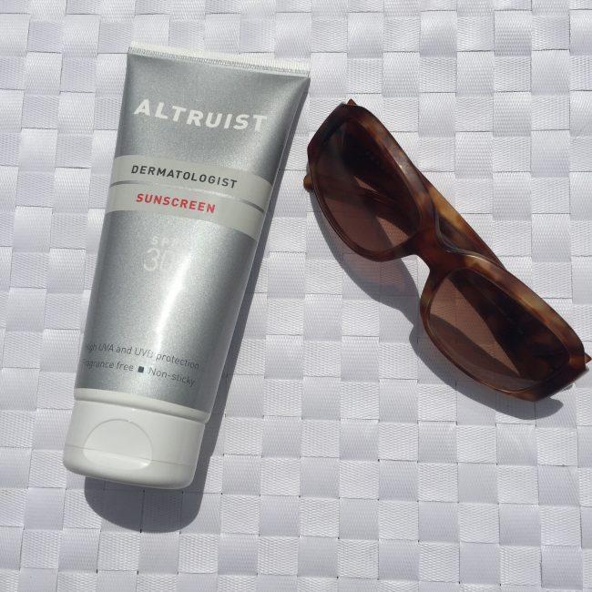 Festival Beauty Essentials Altruist Sun Cream