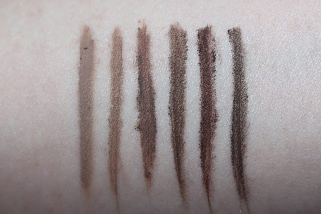Benefit Ka Brow Review Amp Swatches Reallyree