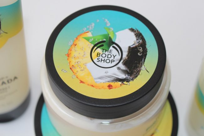 body shop pinita colada