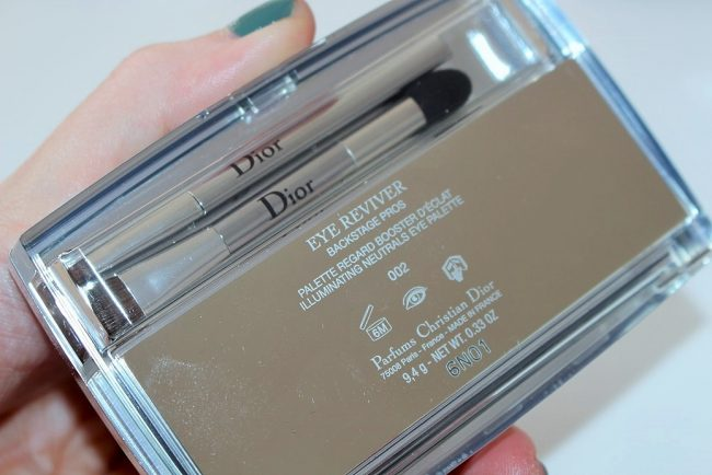 dior summer 2016 eye reviver palette