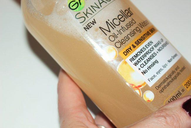 garnier micellar oil infused