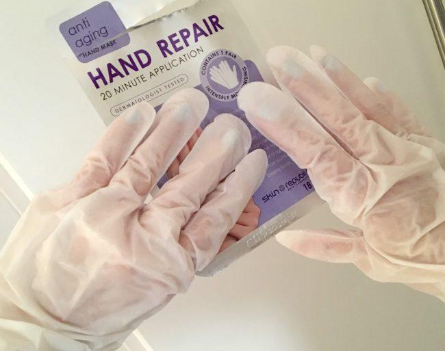 Skin Republic hand repair mask