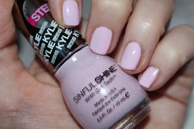 kylie jenner sinful colors nails