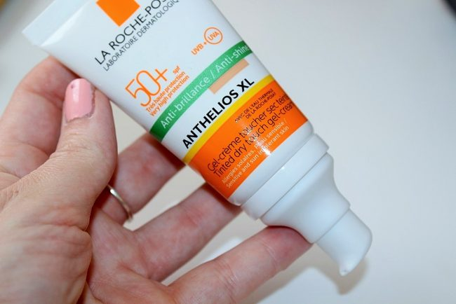 la roche posay anthelios tinted dry touch gel