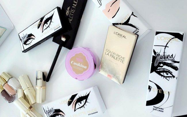 l'oreal paris kristina bazan makeup collection