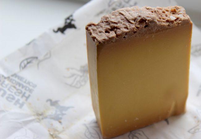 lush salted caramel soap