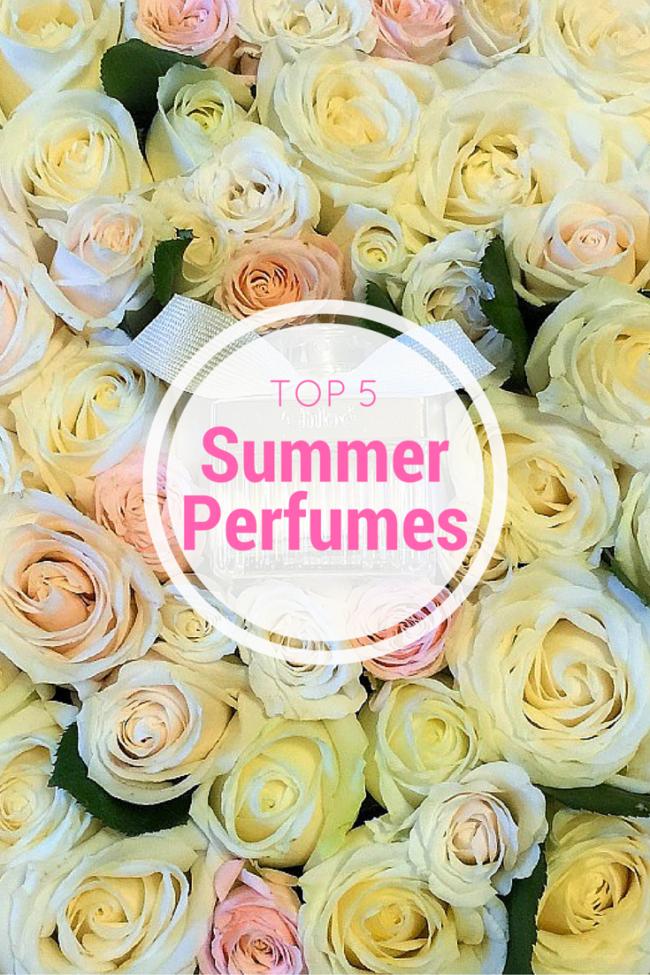 Top 5 Summer Perfumes