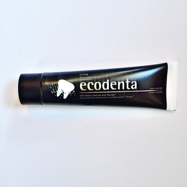 ecodenta black whitening toothpaste review really ree