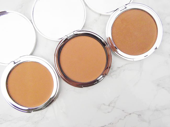 Fusion Beauty Glowfusion Bronzers - L-R Luminous, Radiance & Sunkissed.