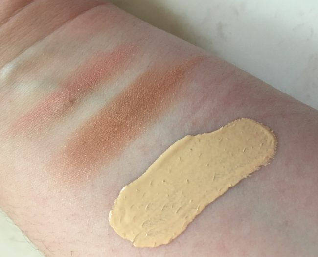 New Cid Makeup Swatches