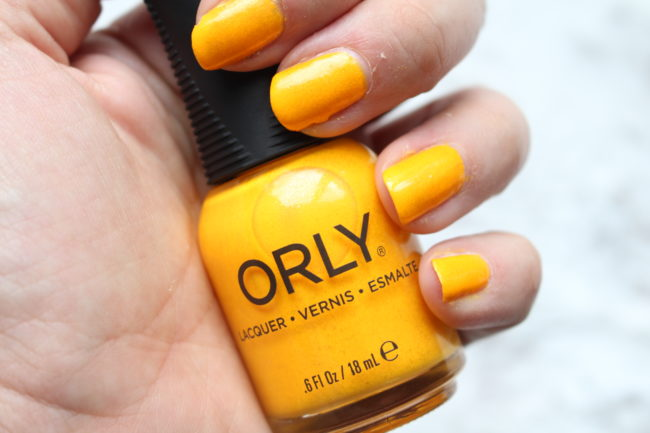 Orly Pacific Coast Highway Collection-Orly Summer Sunset Swatch