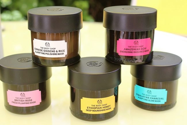 the body shop british rose fresh plumping mask review