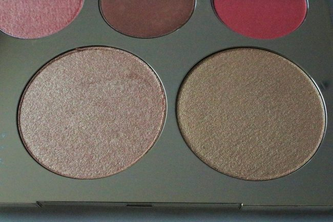 champagne collection face palette