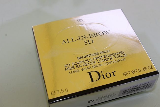 dior all in brow 3d