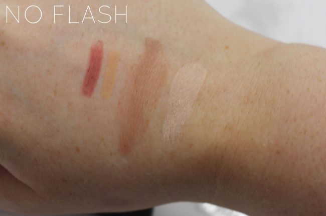 studio 10 Beauty swatches