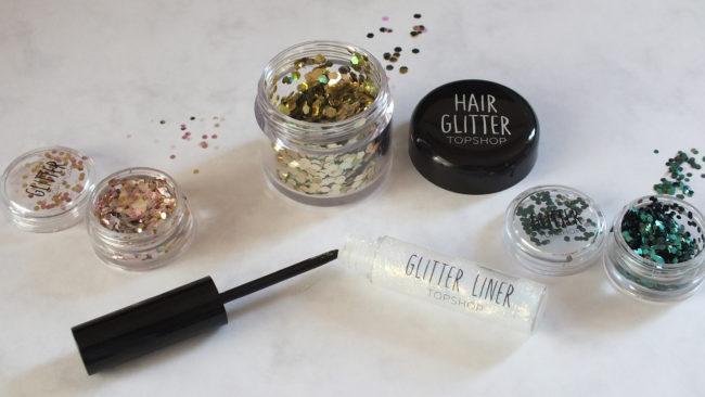 Topshop Glitter Pots