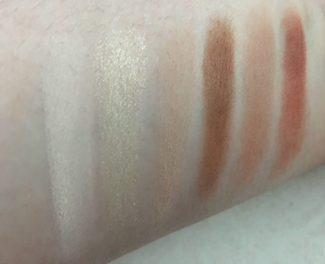 Blank Canvas Master Series Palette One Swatches