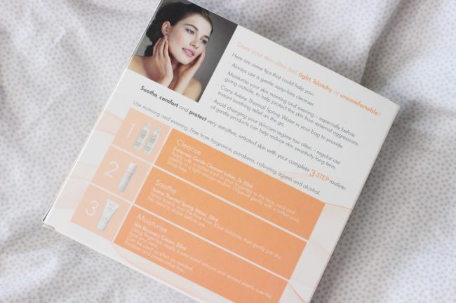 Avene Eau Thermale 3 Step Routine Instructions