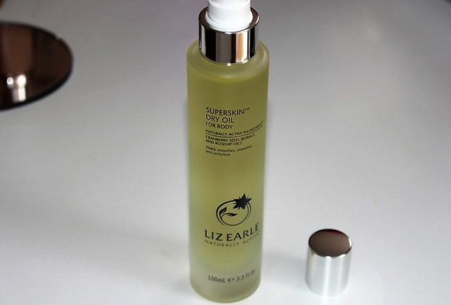 liz earle superskin dry oil body
