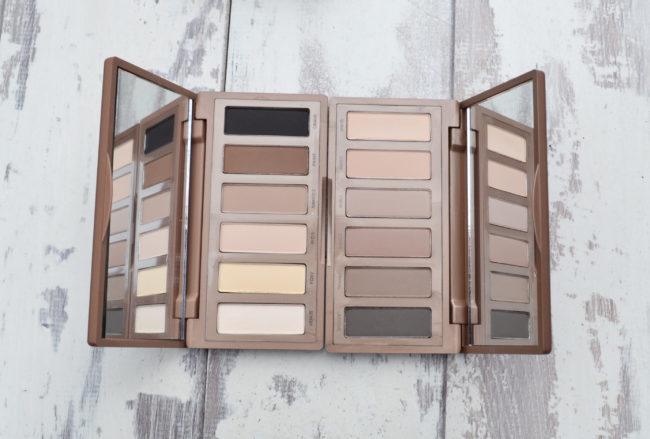 Urban Decay Naked Palette Swatches Comparison - Naked Basics 1 & Naked Basics 2 Palettes