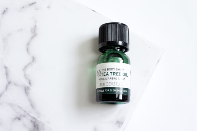 The Body Shop Tea Tree Range - Tea Tree Oil