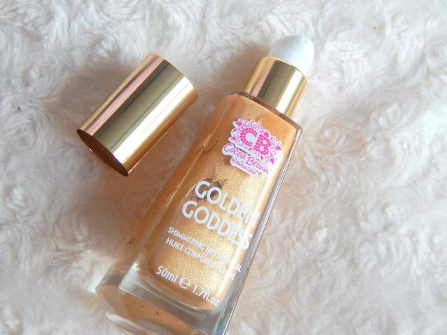 Cocoa Brown Golden Goddess Oil