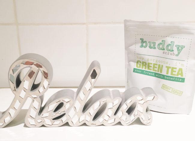 Buddy Scrub Green Tea