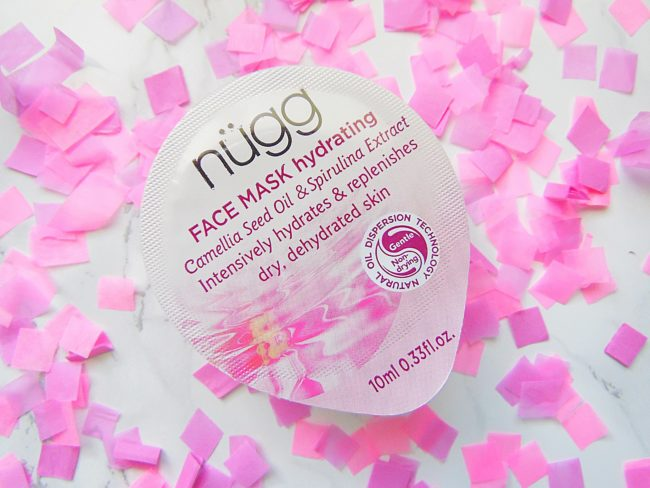 Nugg face mask hydrating